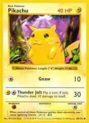 Pikachu - 58/102 - Common - Shadowless Edition