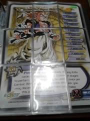 DBZ Gotenks, Super Saiyan 9 Card Puzzle Set