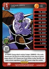 Captian Ginyu 1-4 Premeir Personality Stack Pack Foil