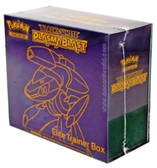 Black and White Plasma Blast: Elite Trainer Box
