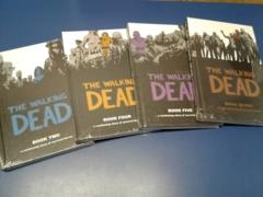 The Walking Dead Hard Cover Collection (Vol. 2,4,5,7 and The Covers Vol.1)