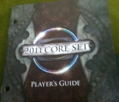 MTG 2011 Core Set Fat Pack Player's Guide Only (USED)