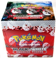 Black and White Emerging Powers Box of 8