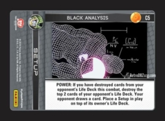 Black Analysis - C5 - Foil