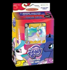 Canterlot Nights: Princess Celestia & Rarity: Theme Deck