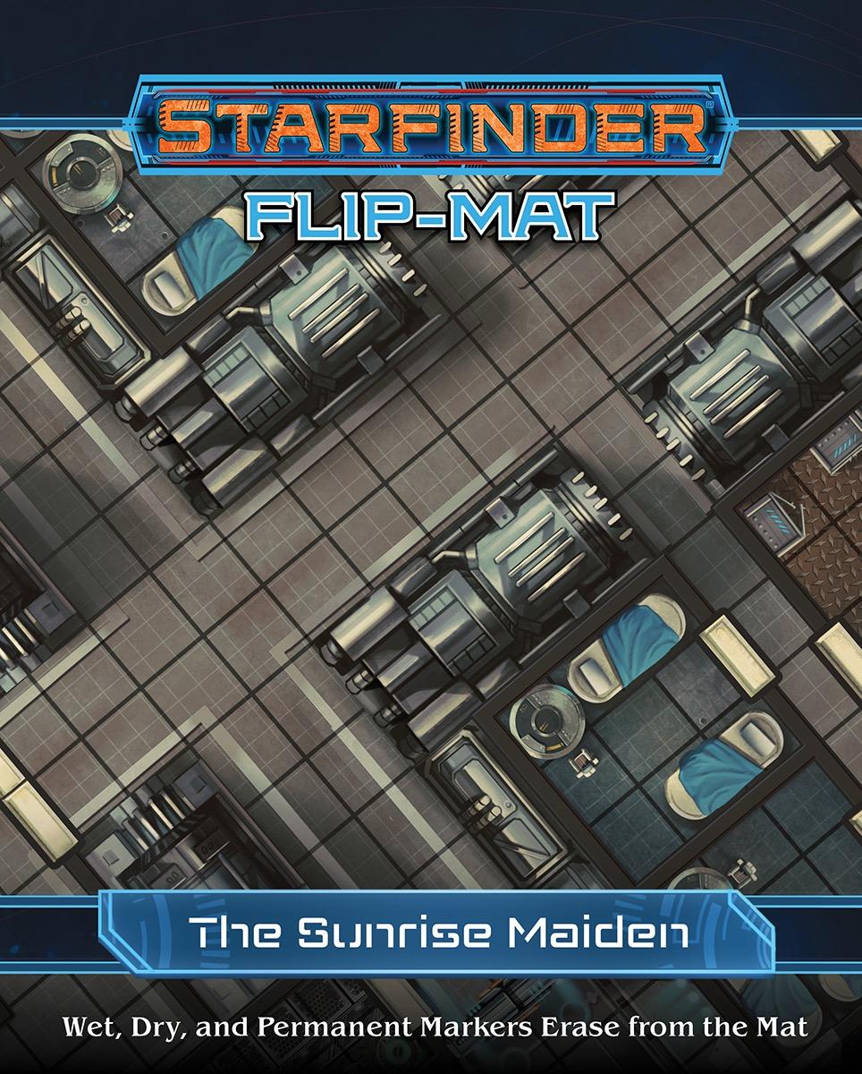 PRESALE Flip Mat Starship New Starfinder Roleplaying Game RPG