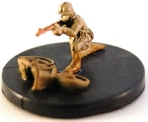 Axis /& Allies miniatures 1x x1 #003 French Resistance Fighters Reserves NM with